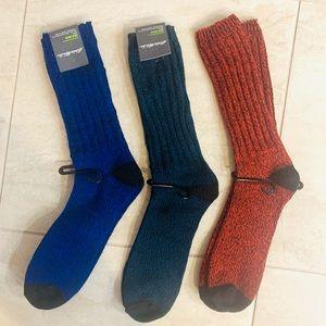 Eddie Bauer Wool-Blend Ragg Boot Socks